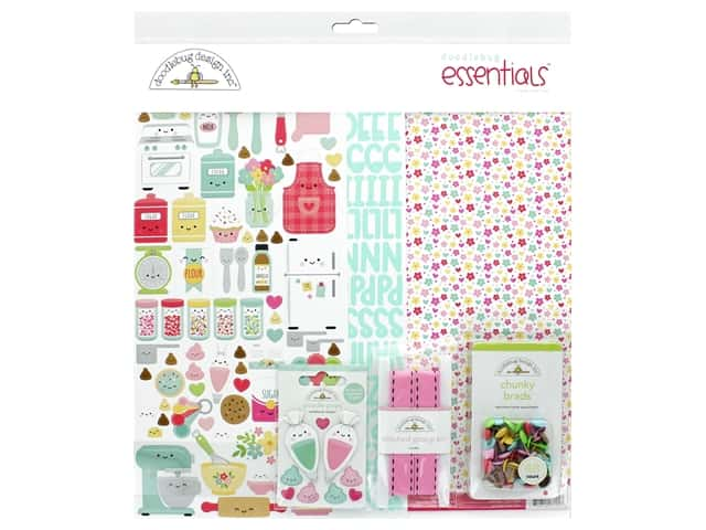 Doodlebug Collection Made With Love Essentials Kit