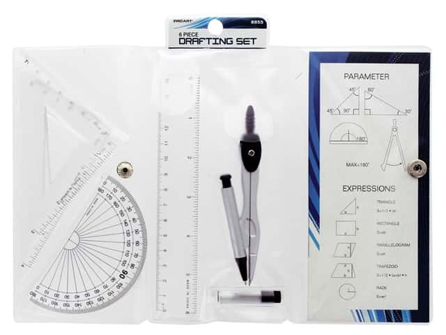 Pro Art Drafting Set 6 pc.