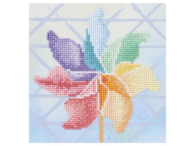 Diamond Art Beginner Kit - Pinwheel