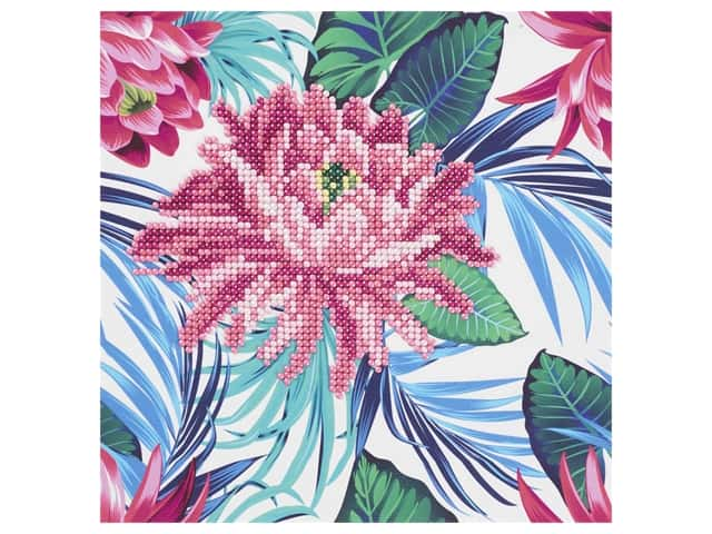 Diamond Art Beginner Kit - Tropical Flower