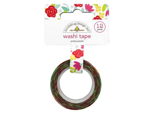 Doodlebug Washi Tape - Pretty Posies