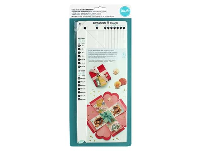 We R Memory Explosion Card Punch Board Box