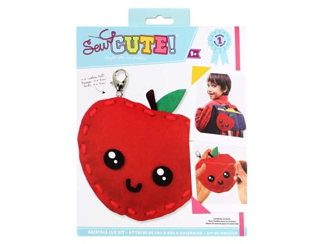 Colorbok Sew Cute! Backpack Clip Kit - Apple