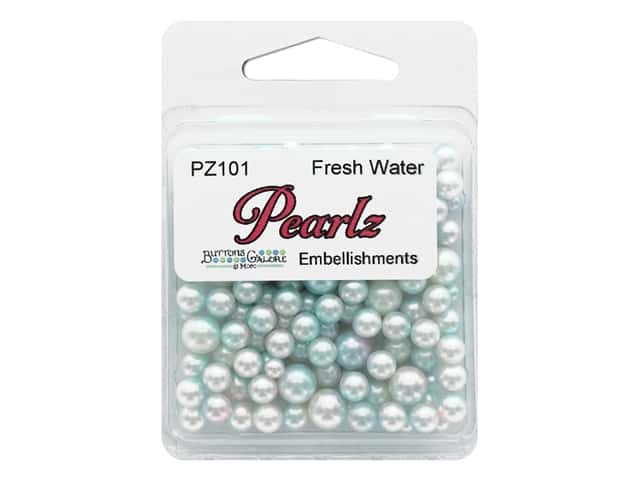 Buttons Galore Pearlz - Fresh Water