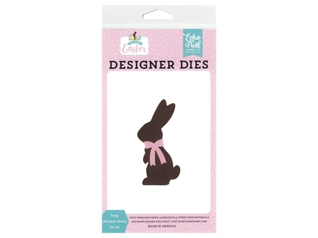 Echo Park Collection Welcome Easter Die Set Tasty Chocolate Bunny