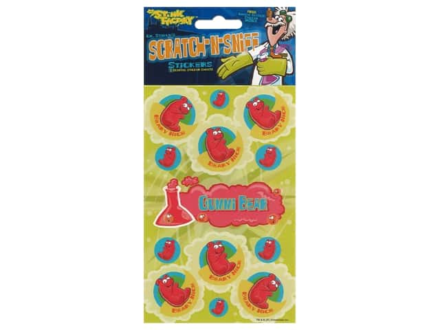 Just For Laughs Scratch-n-Sniff Stickers - Gummi Bear