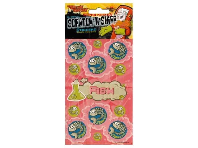 Just For Laughs Scratch-n-Sniff Stickers - Fish