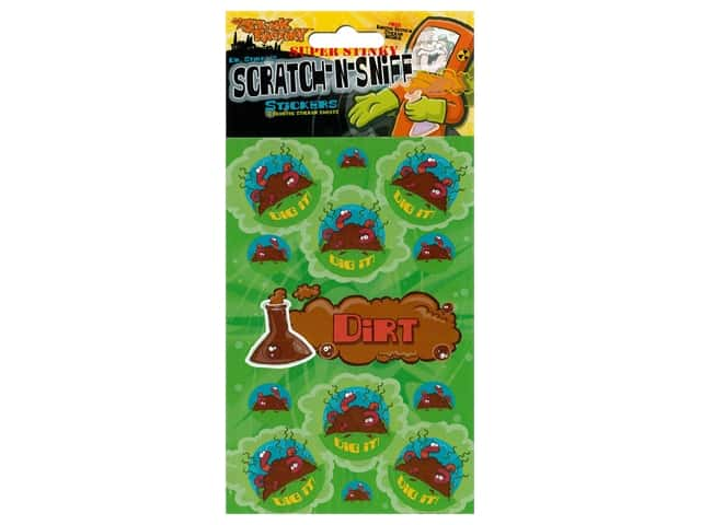 Just For Laughs Scratch-n-Sniff Stickers - Dirt