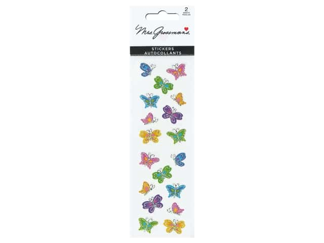 Mrs Grossman's Stickers - Reflections Butterflies