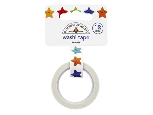 Doodlebug Collection School Days Washi Tape Superstar