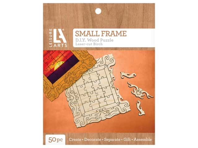 Leisure Arts Wood Puzzle Small Frame