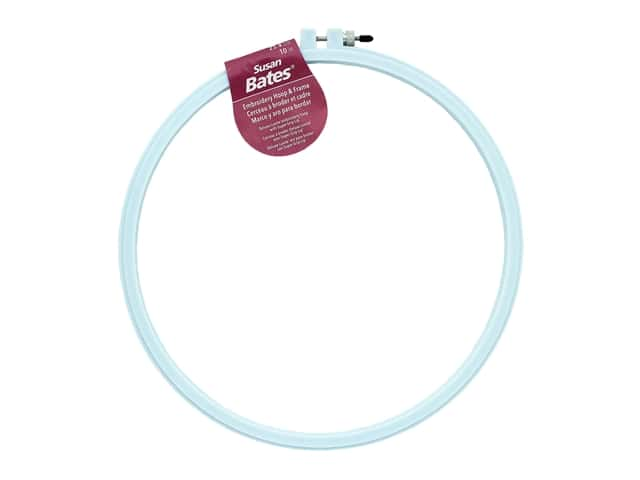 Susan Bates Plastic Embroidery Hoops 10 in. Blue
