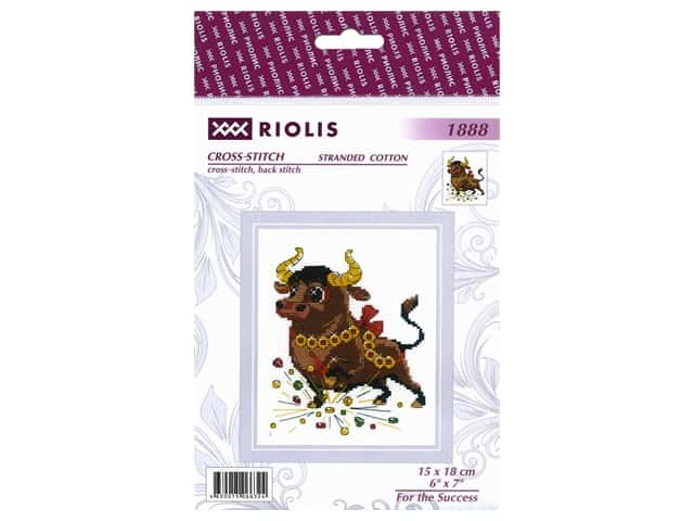 Riolis Cross Stitch Kit For The Success