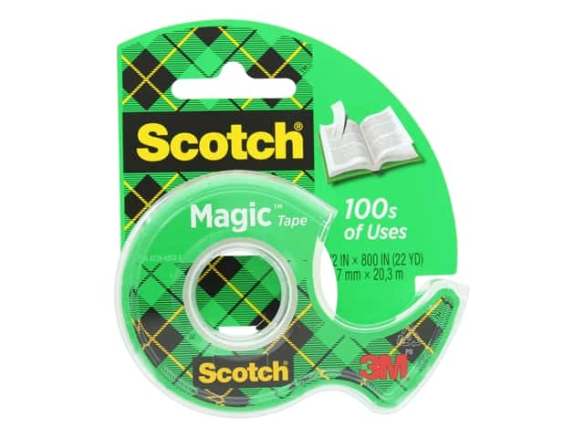 Scotch Magic Tape - 1/2 x 800 in.