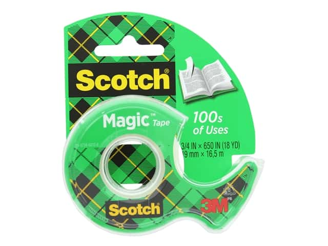 Scotch Magic Tape - 3/4 x 650 in.