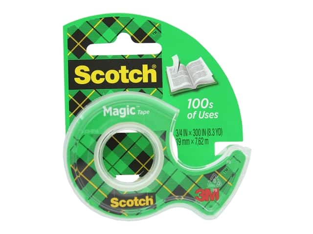 Scotch Magic Tape - 3/4 x 300 in.