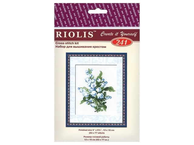Riolis Cross Stitch Kit Lilly of the Valley