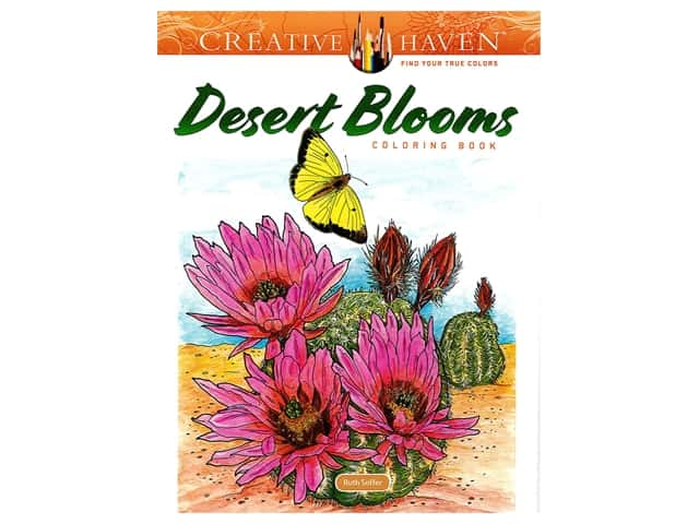 Dover Publications Creative Haven Desert Blooms Coloring Book