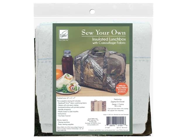 June Tailor Kit Sew Your Own XTRA Insulated Lunchbox