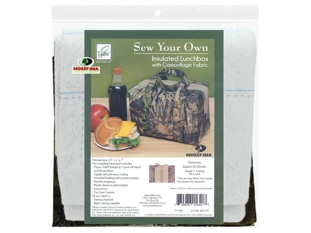 June Tailor Kit Sew Your Own Break Up Insulated Lunchbox