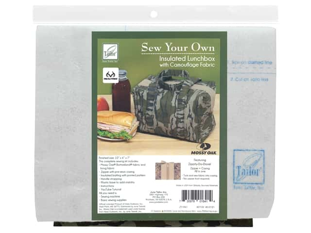 June Tailor Kit Sew Your Own Bottomland Insulated Lunchbox