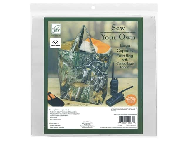 June Tailor Kit Sew Your Own EDGE Large Capacity Tote