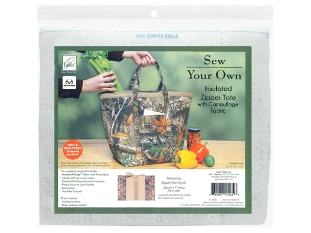 June Tailor Kit Sew Your Own EDGE Insulated Zipper Tote