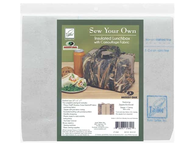 June Tailor Kit Sew Your Own Shadow Grass Insulated Lunchbox