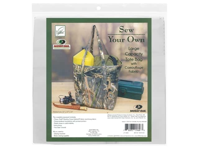 June Tailor Kit Sew Your Own Shadow Grass Large Capacity Tote