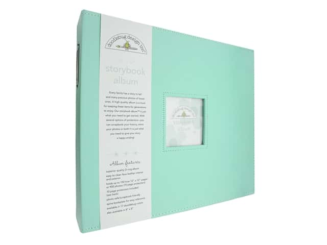 Doodlebug Album Storybook 12 in. x 12 in.  Mint