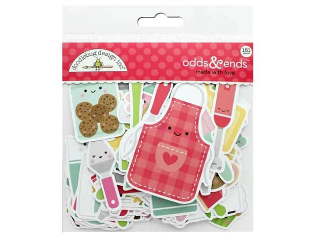 Doodlebug Collection Made With Love Odds & Ends