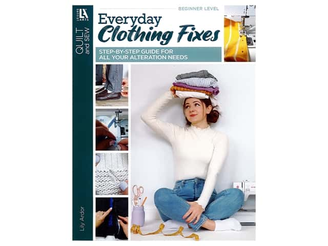 Leisure Arts Everyday Clothing Fixes Book