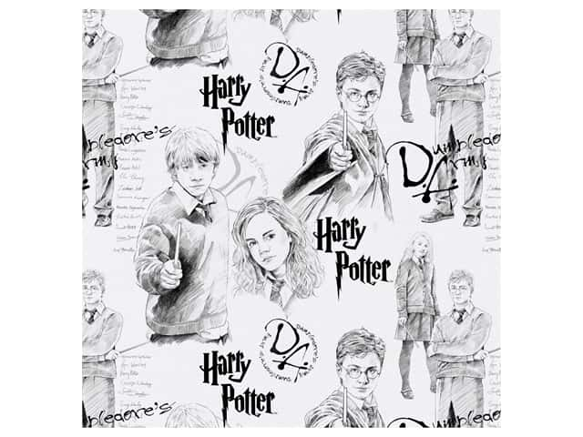 Harry Potter 44 in. Cotton Fabric - Mystery Magic 8 yd.