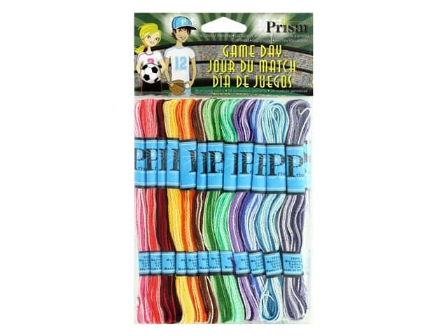 Prism Craft Thread Pack 36 pc. Game Day
