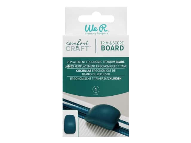 We R Memory Comfort Craft Trim And Score Replacement Blade