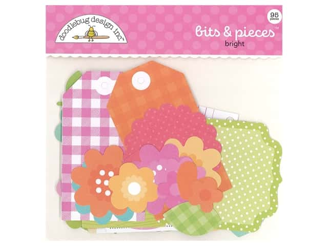 Doodlebug Collection Cute & Crafty Bits & Pieces