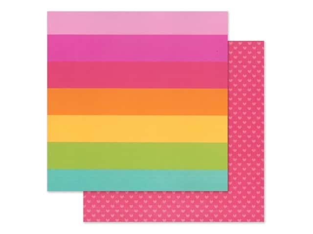 Doodlebug Collection Cute & Crafty Paper 12 in. x 12 in. Craft In Color