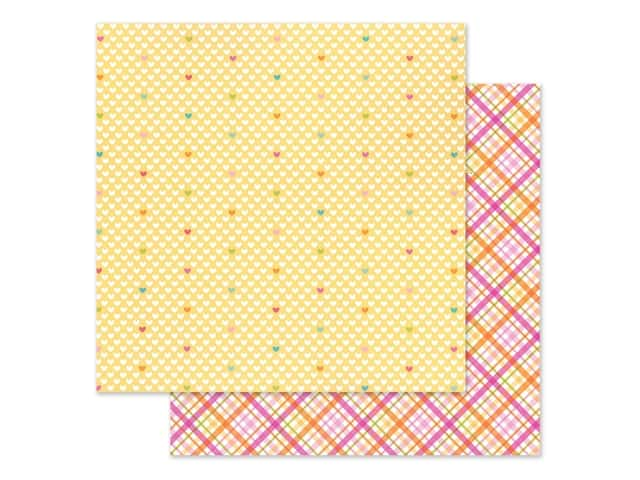 Doodlebug Collection Cute & Crafty Paper 12 in. x 12 in. Love This