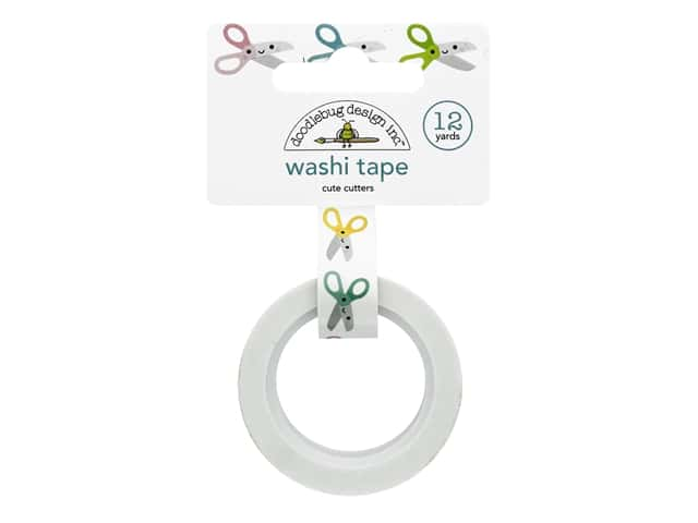Doodlebug Collection Cute & Crafty Washi Tape Cute Cutters