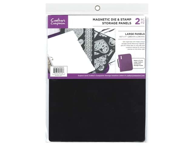 Crafter's Companion Tools 8.5 in. x 11Magnetic Storage Panels 2 pc
