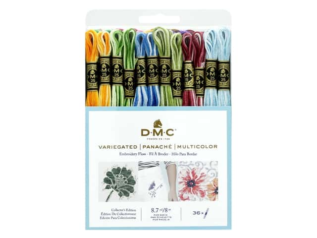 DMC Embroidery Floss Pack Six Strand Variegated