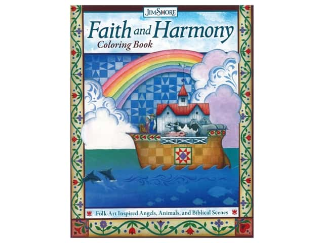 Faith and Harmony Coloring Book
