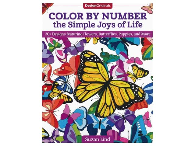 Color By Number the Simple Joys of Life Book