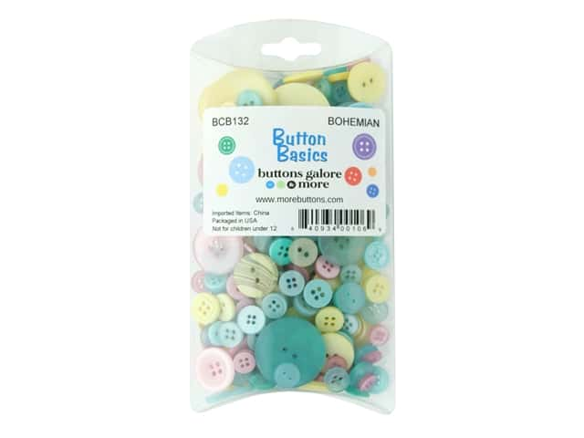 Buttons Galore Button Bohemian Style