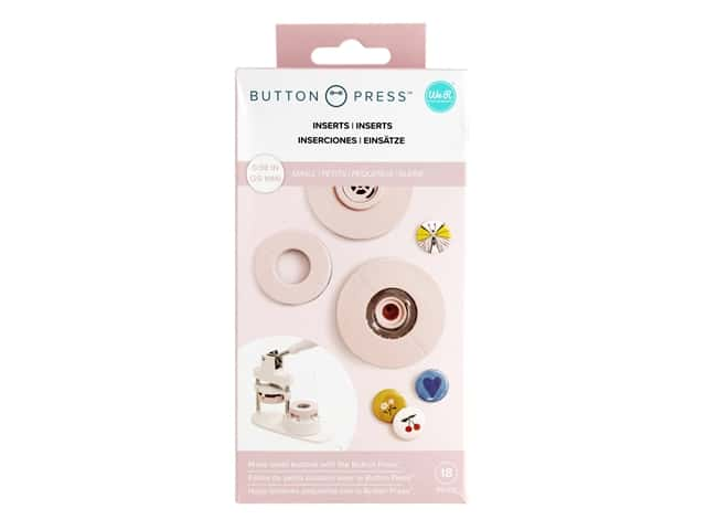 We R Memory Button Press 25 mm Inserts Small