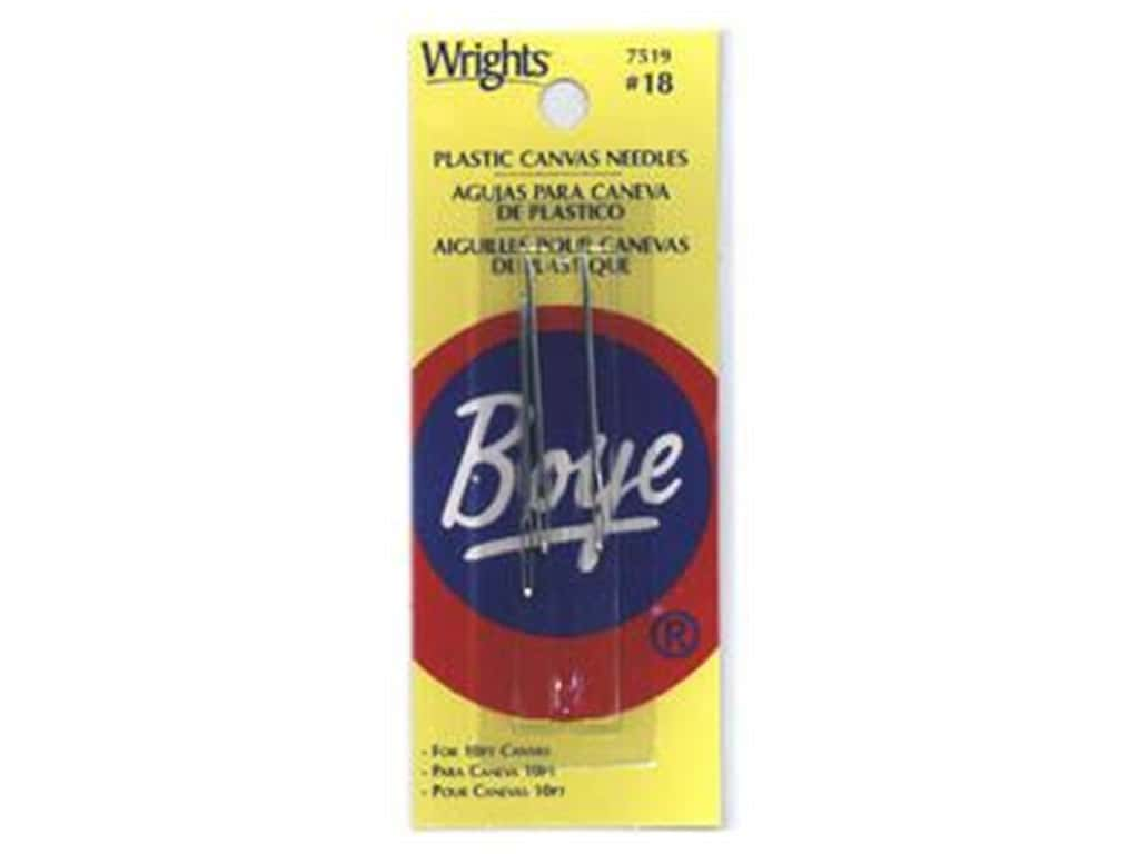 Boye Plastic Canvas Needle Size 18 3 pc.