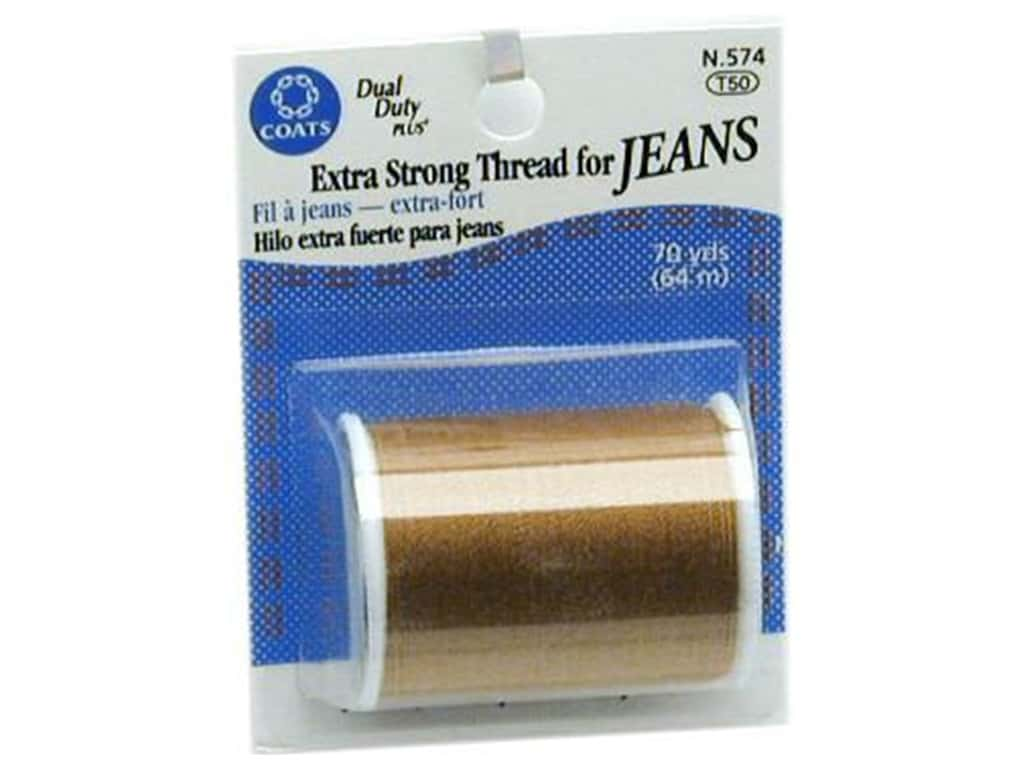 Coats Extra Strong Thread For Jeans 70 yd. Golden