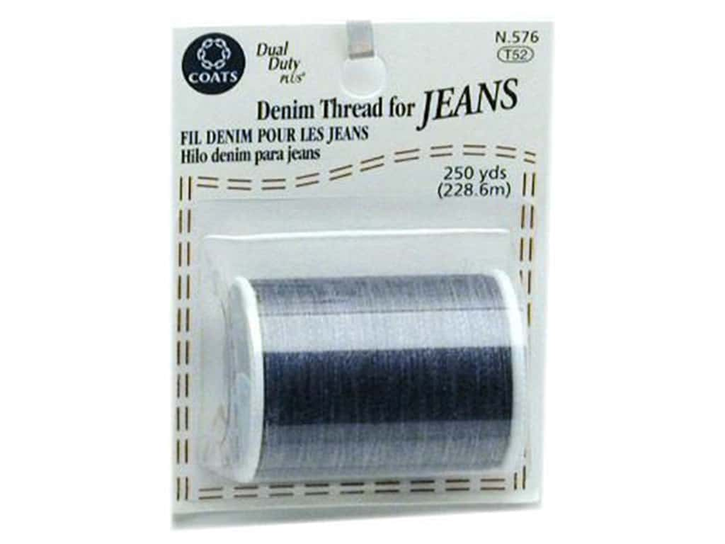 Coats Denim For Jeans 250 yd. Blue