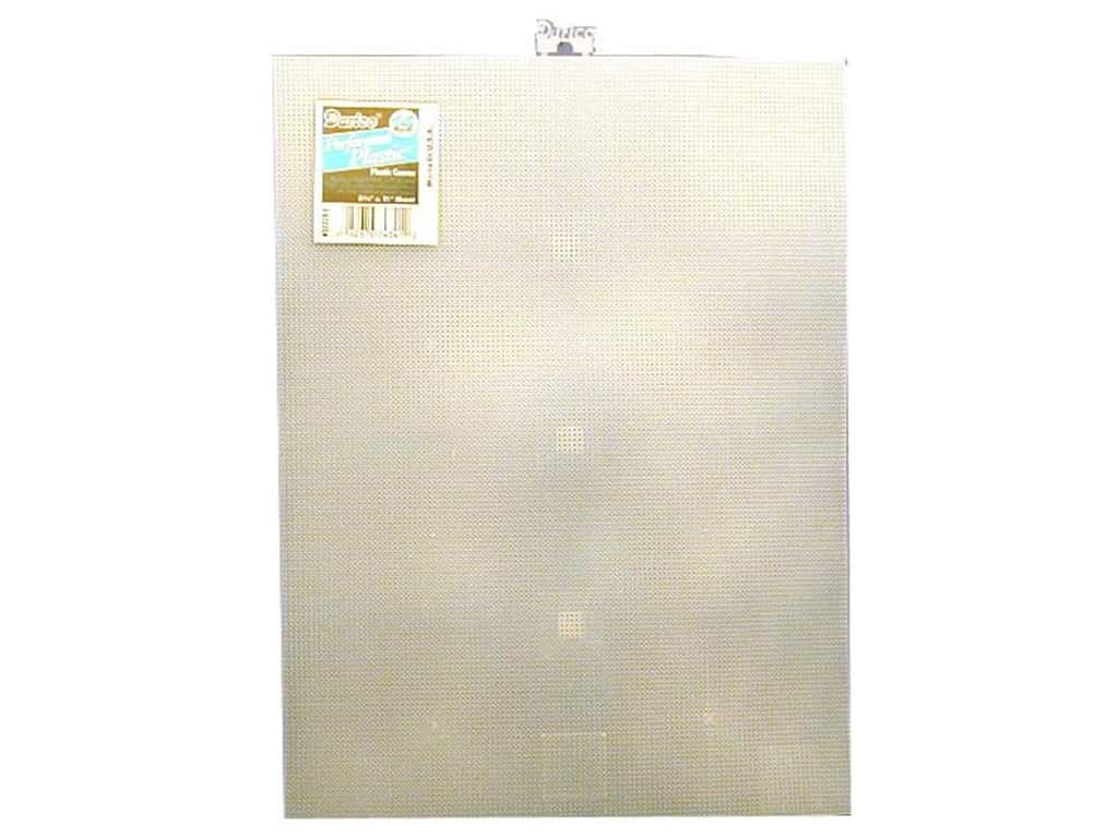 Darice Plastic Canvas #14 Mesh 8 1/2 x 11 in. Clear (12 sheets)