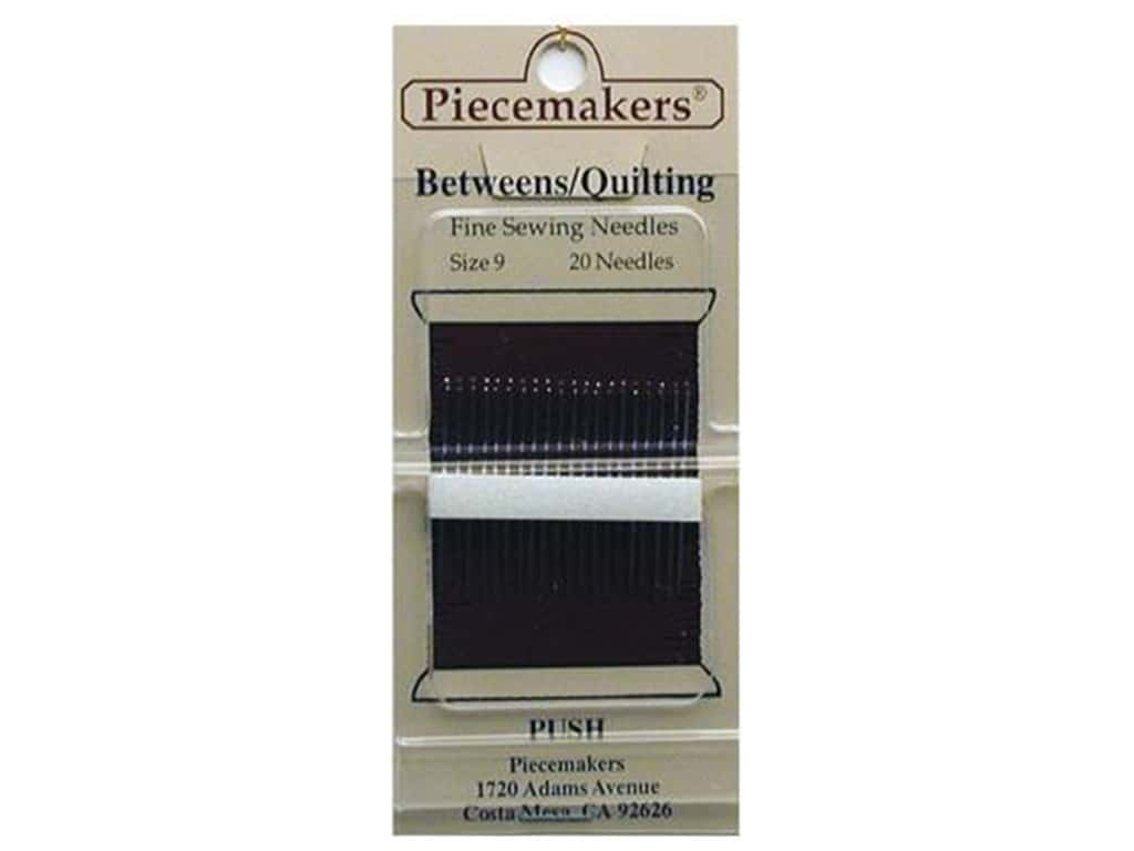 Piecemakers Between/Quilt Needles Size 9 (3 packages)